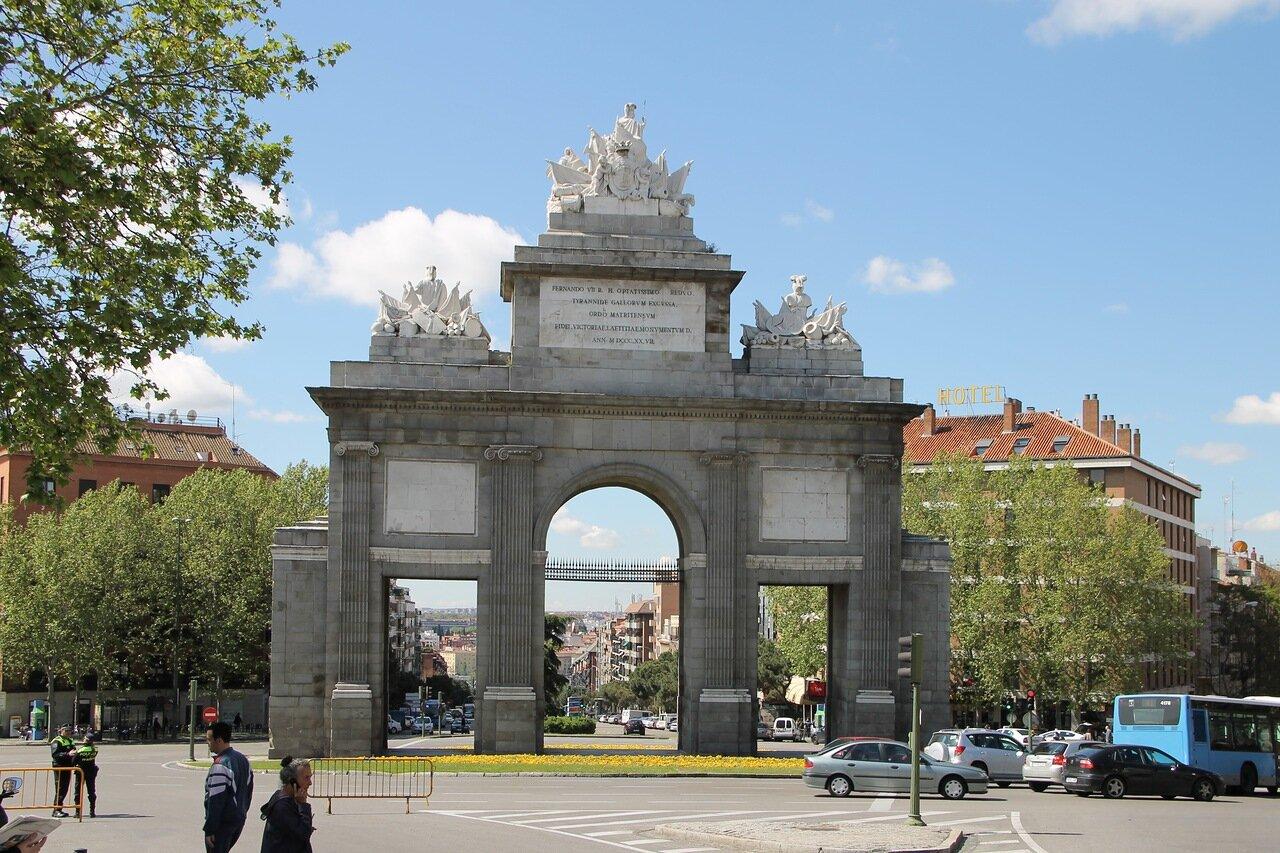 Мадрид. Ворота Толедо (Puerta de Toledo)