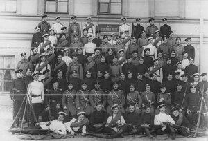 Личный состав 4-ой роты батальона .