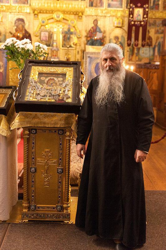 Песчанская икона Божией Матери в Федоровском Государевом Соборе