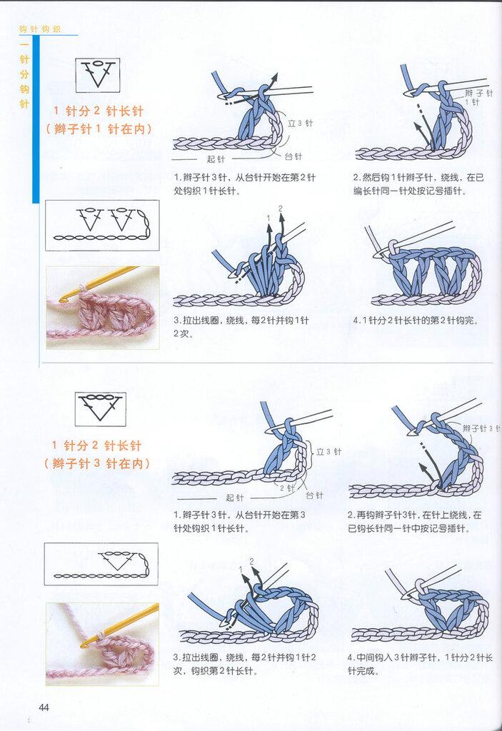 Азы вязания крючком для начинающих 56