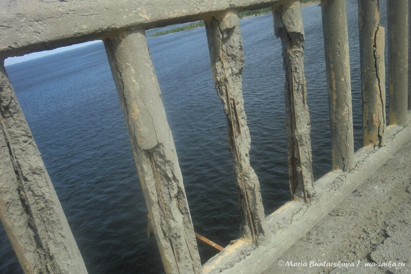 Мост через Волгу, Саратов - Энгельс, 25 мая 2013 года