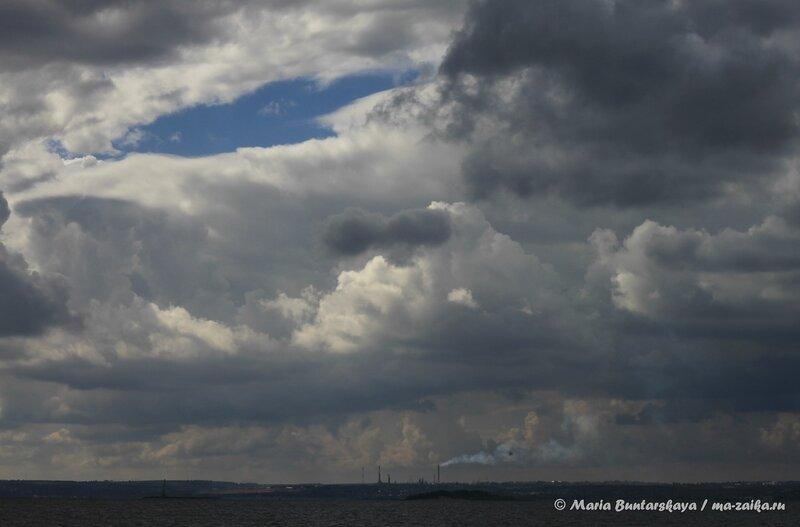 Волжский простор, Саратов, Набережная Космонавтов, 06 сентября 2013 года