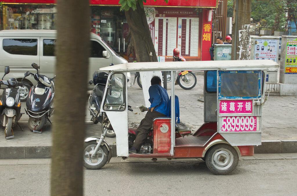 Фото. Отчет о самостоятельной поездке в Китай. Есть в Гуйлине и вот такой транспорт будущего. Как добраться в Яншо