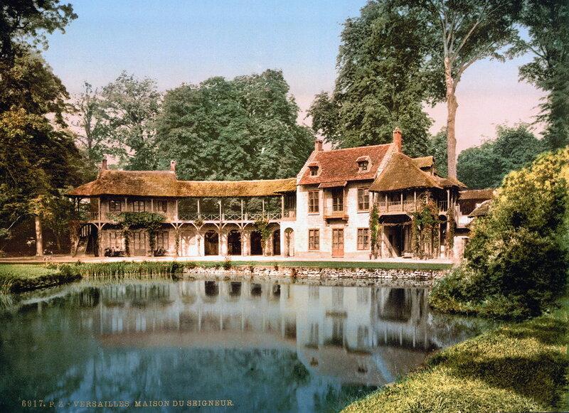 Господский дом в парке Малого Трианона