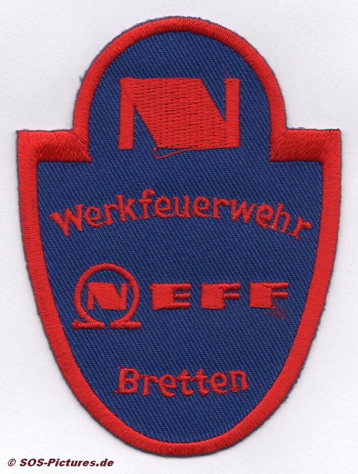 Нашивка работников завода Neff в Бреттене