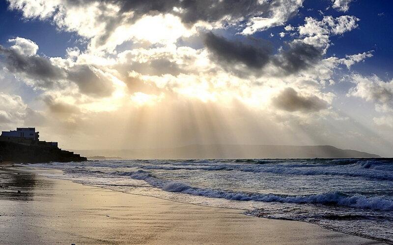 Море солнце лучи Sea the sun rays  № 1623238 бесплатно