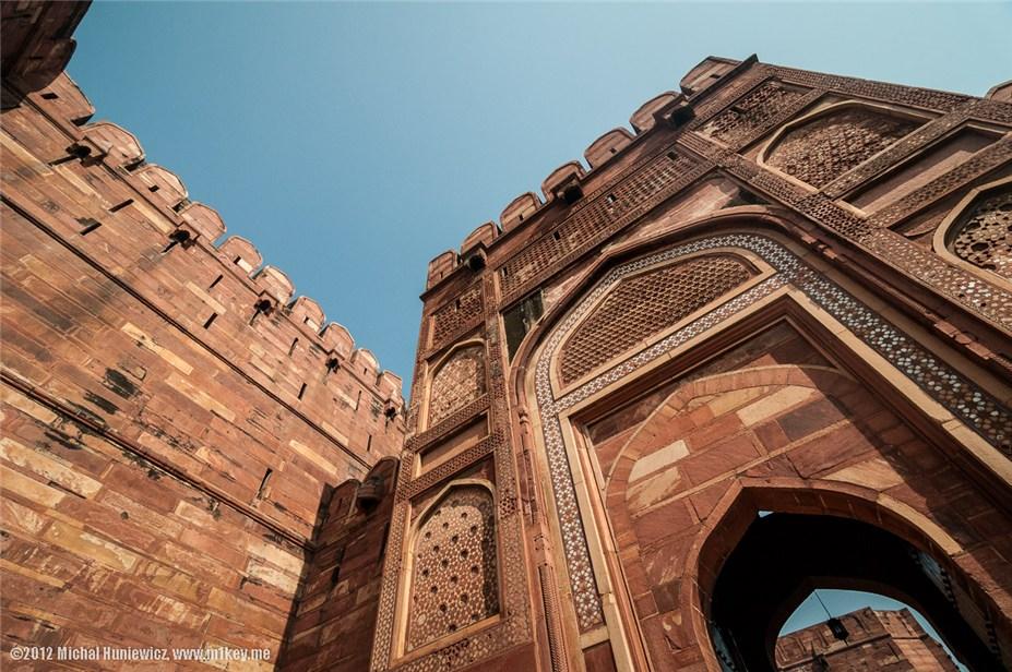 Красный форт, Агра - путешествие по Индии / India by Michal Huniewicz