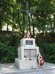 Памятный крест с именами казненных