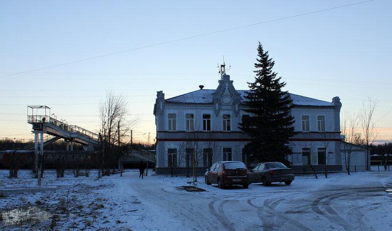 Вокзал Жилёво