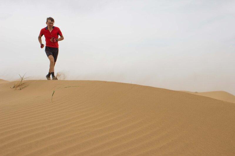 пробежка по дюнам