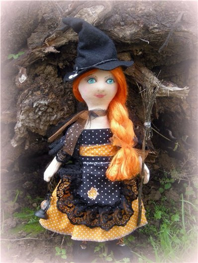 кукла колдунья