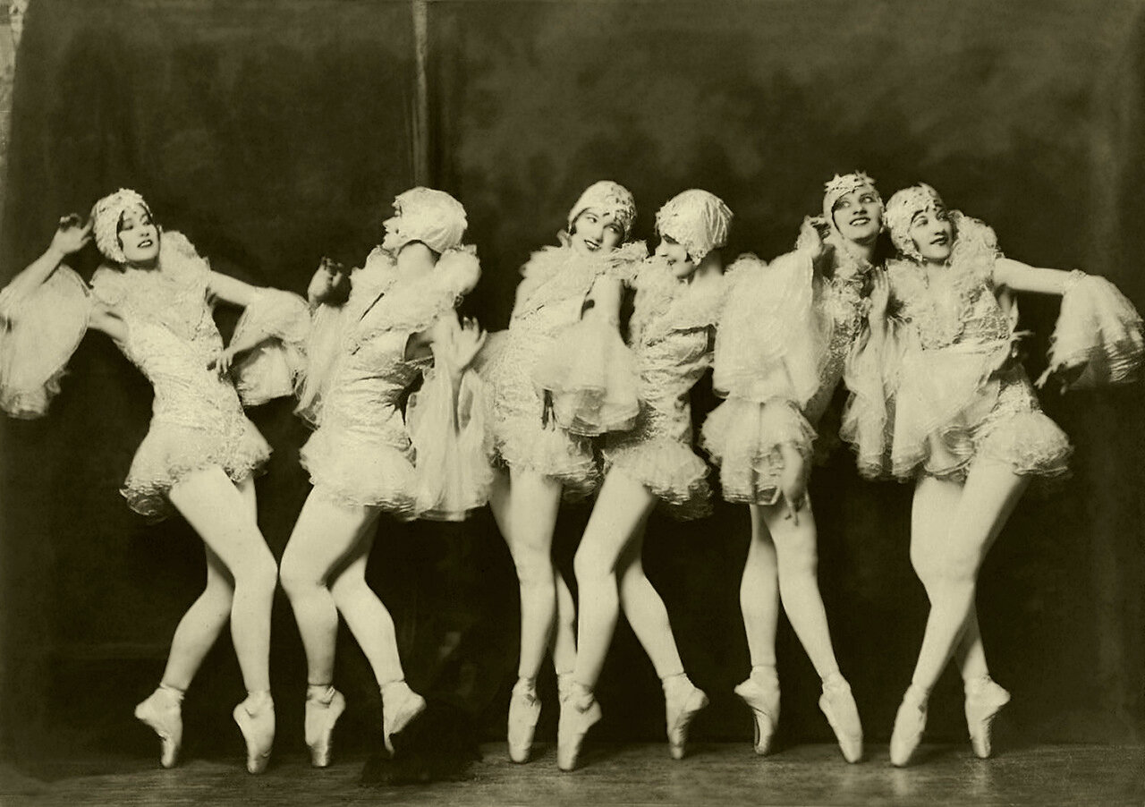 Ziegfeld Model - Non-Risque - Dancers by Alfred Cheney Johnston