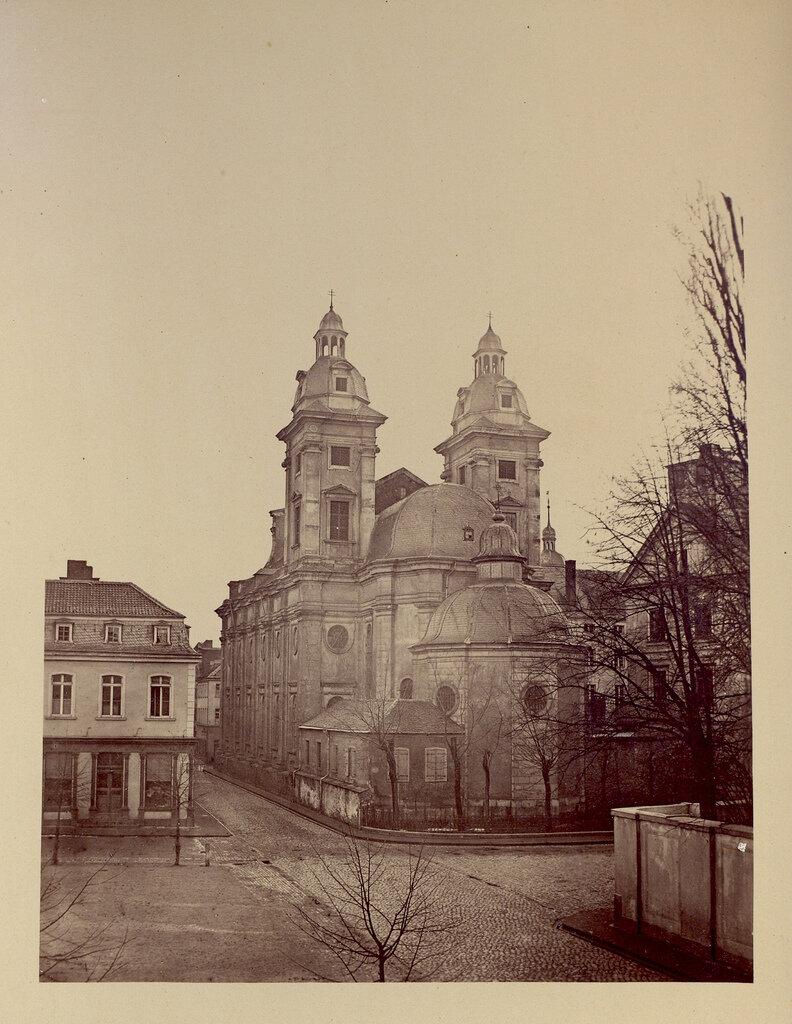 Дюссельдорф. Церковь Апостола Андрея. 1860