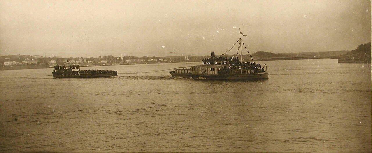 26. Переправа через реку Волга