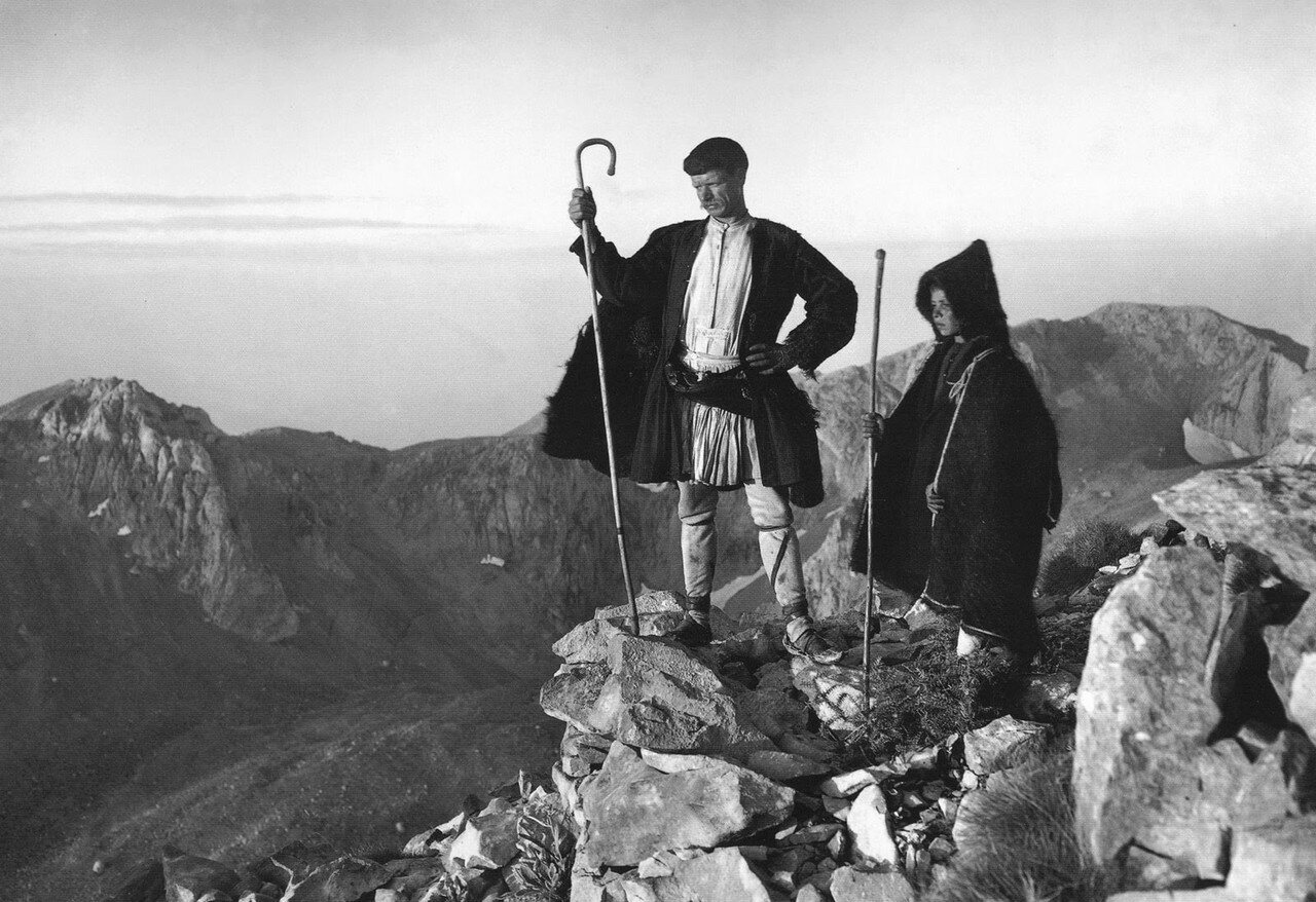 1903. Пастухи на вершине Парнаса