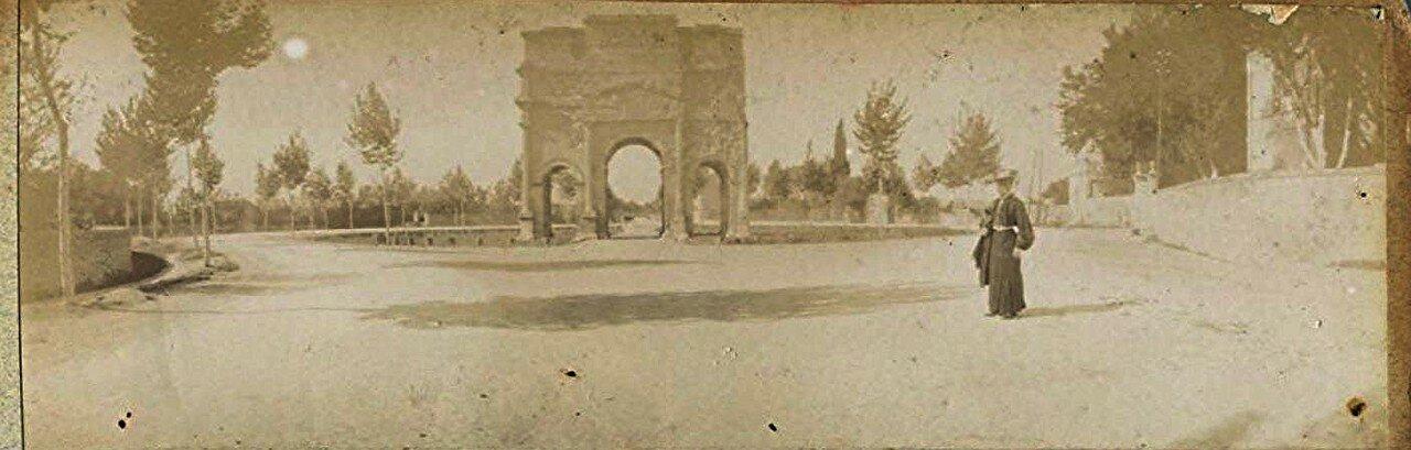 Триумфальная арка 1900-е.
