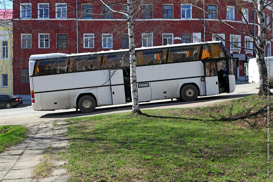 экскурсионный автобус в Кирове