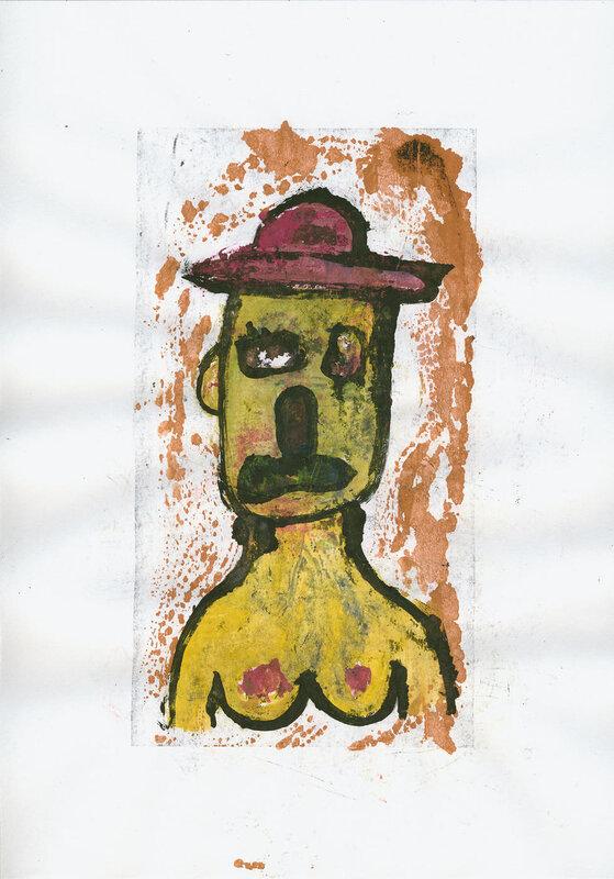 Портрет в шляпке