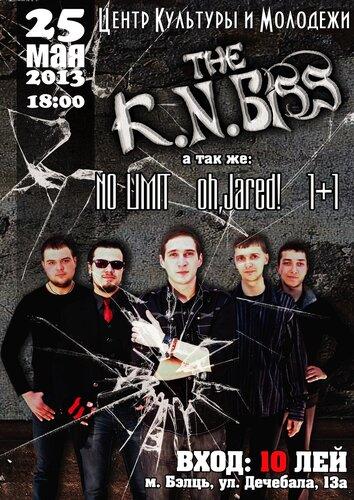 Приглашаем на концерт группы «The K.N.Biss»