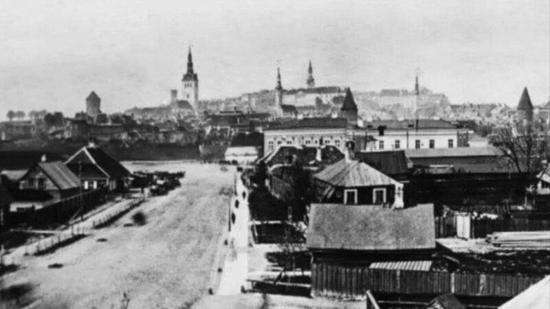 1860 Ревель. Нарвское шоссе и Русский рынок.jpg