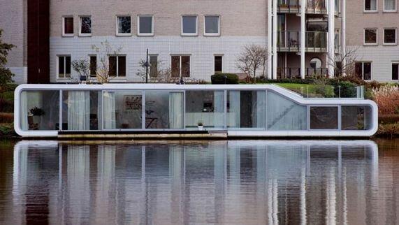 Плавучий дом Watervilla Де Omval