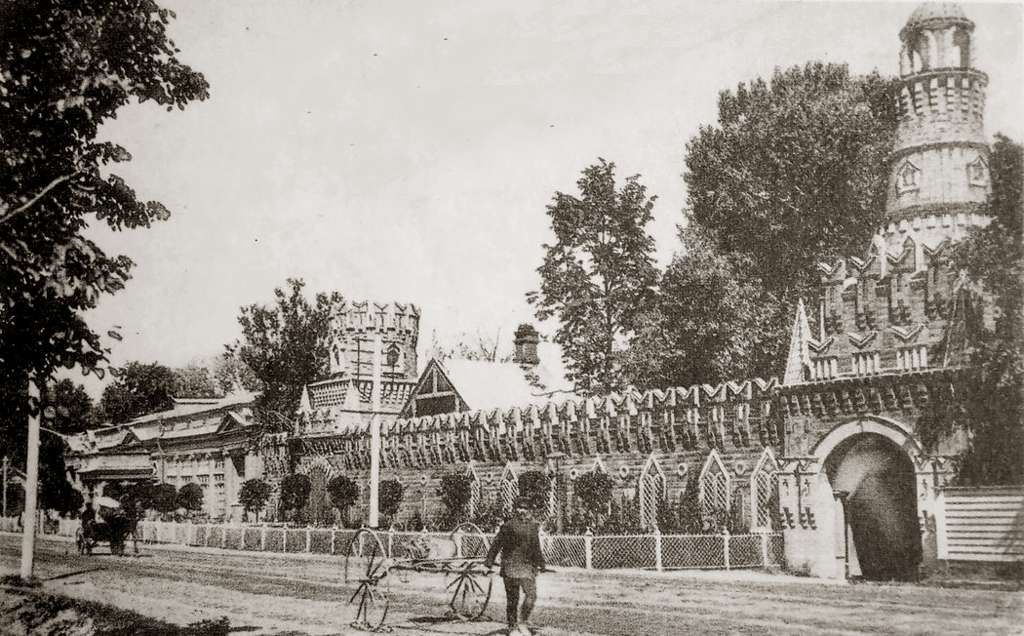 Ресторан Яр на Петербургском шоссе, 1905 год
