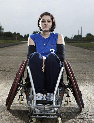 Team GB Wheelchair Rugby team, Britain - 14 Aug 2012