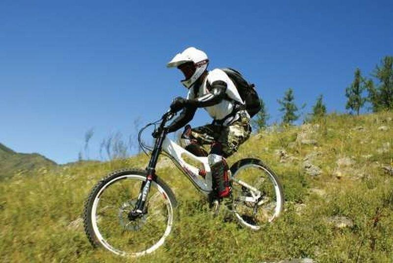 Фрирайд на горном велосипеде (01.10.2013)