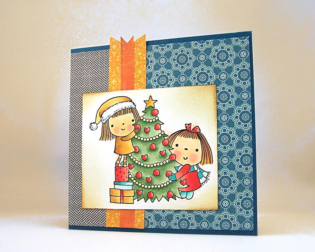 Идея для рождественской открытке