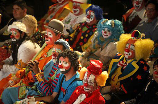 Mexico Clown Convention