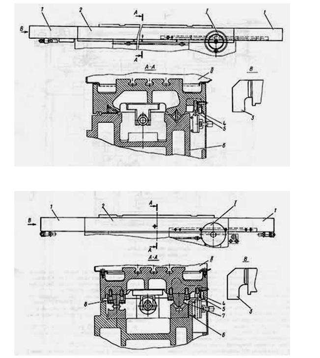 Конструкция прямоугольного стола