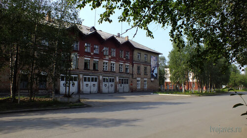 Фото города Инта №5262  Лунина 5 и Кирова 19 25.07.2013_13:27