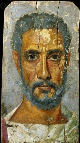 Fayum Portrait of a Middle-Aged Man