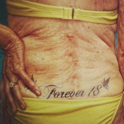 tattoo бабушка