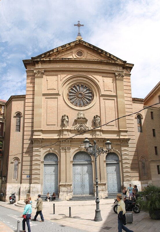 Валенсия.  Церковь Святого сердца Иисуса  (Iglesia del Sagrado Corazón de Jesús)