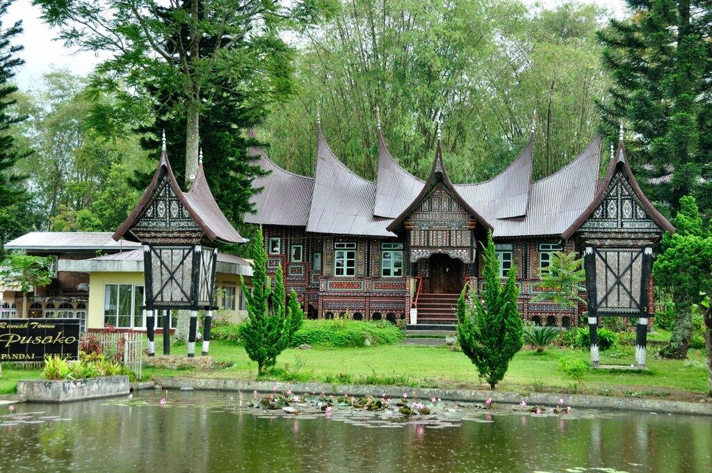 дом народа минангкабау