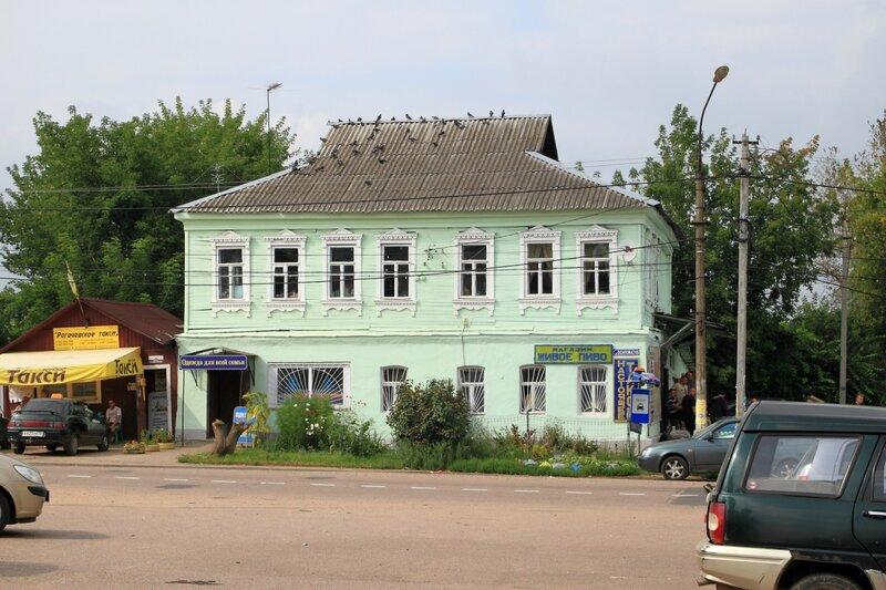 Дом на Соборной площади в Рогачёве