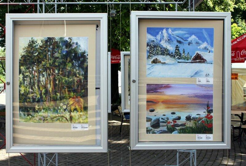 Выставка детских работ в Мариинском парке