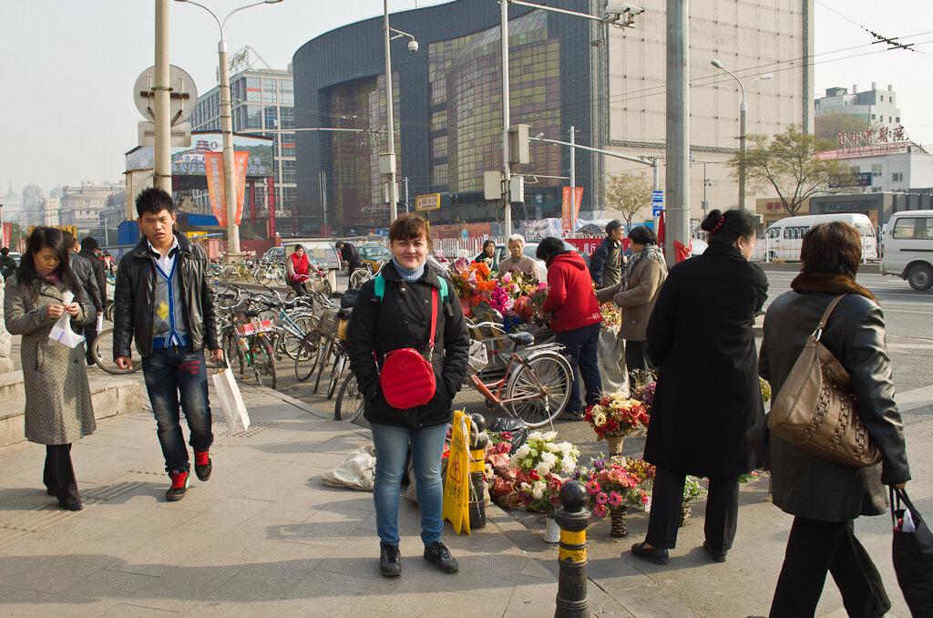 Цветы любят и в Китае. Отзыв о поездке в Пекин самостоятельно