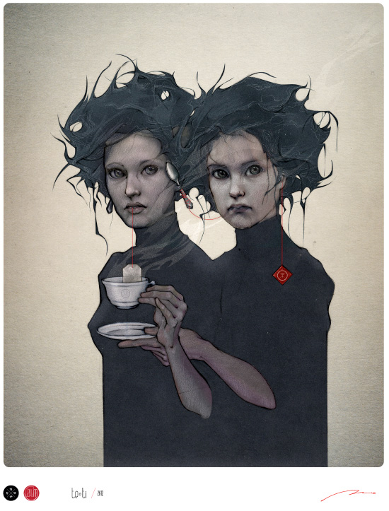 Dark and Mysterious Illustrations by Bruno Vergauwen