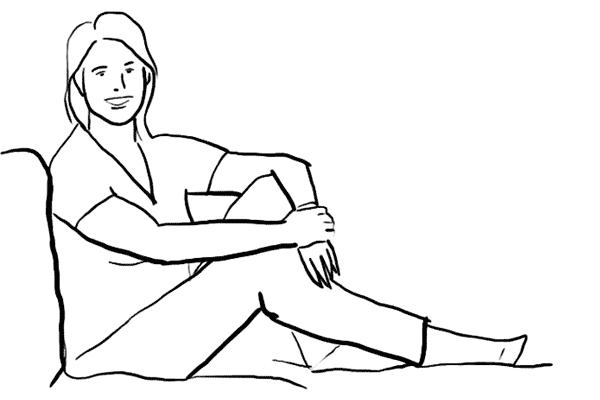 Позирование: позы для женского портрета 2-6