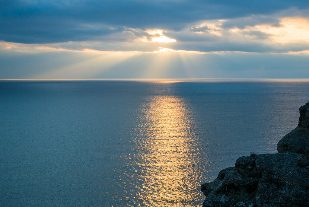 Крым в январе. Сплошные аномалии.