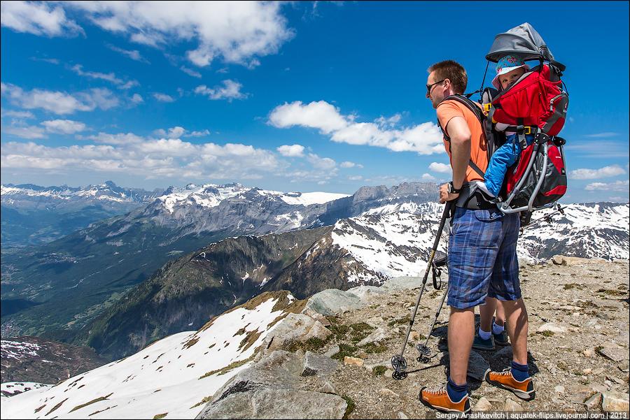 Юные альпинисты