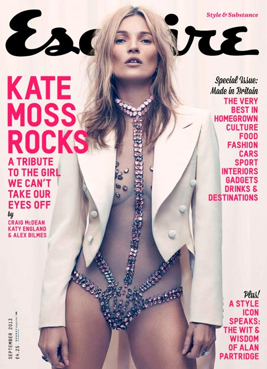 Кейт Мосс / Kate Moss by Craig McDean in Esquire UK september 2013