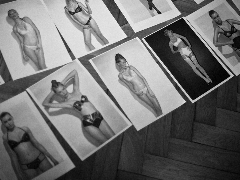 За кулисами съемки рекламной кампании нижнего белья Lascivious lingerie, осень-зима 2013