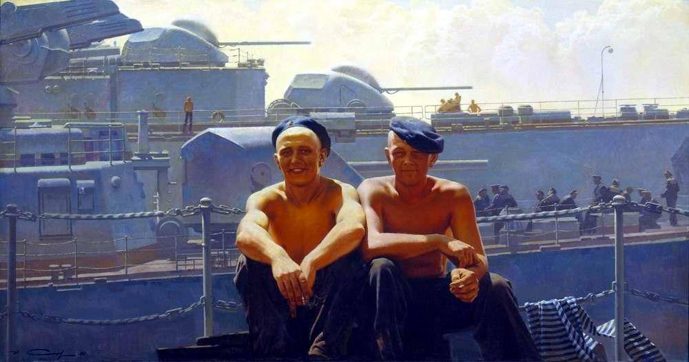 Между вахтами (Александр Сытов, 1986 год)