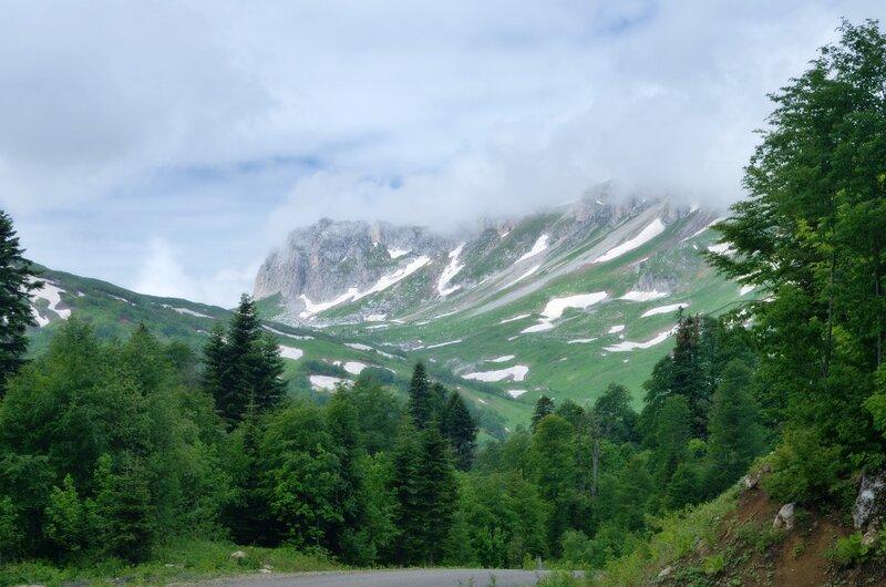 Гузерипльский перевал и Оштен.
