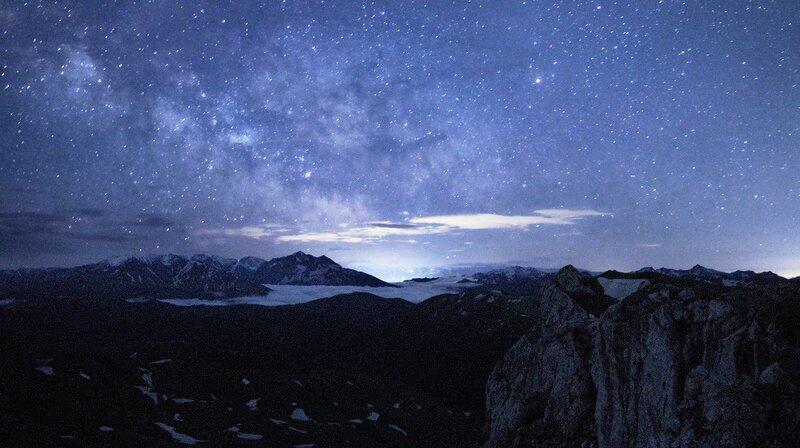 Млечный путь над красной поляной #2