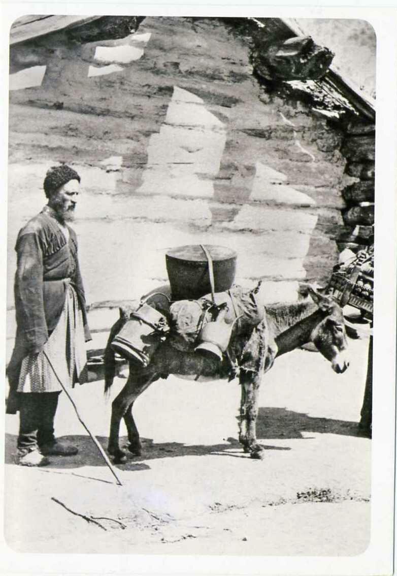 Карачаевцы. Аул Карт-Джурт. ХIХ век.