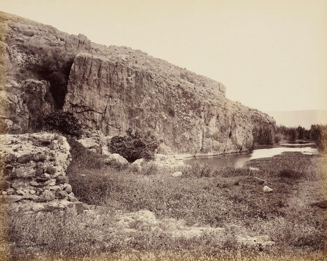 21 апреля 1862. Место древнего Капернаума
